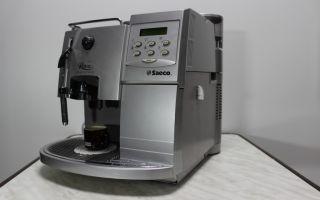 Не работает кофемашина saeco royal