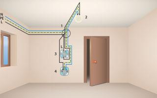 Что делать, если при включении света дымит проводка в коридоре?