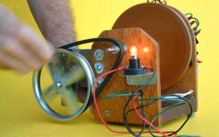 Делаем бесплатное электричество – простой самодельный генератор