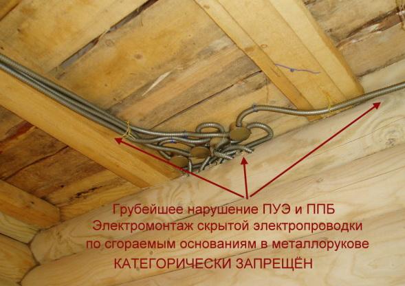 Можно ли прокладывать кабель под вагонкой